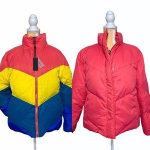 Blank NYC Temptations Reversible Puffer Jacket